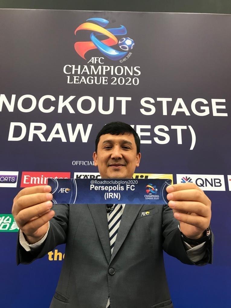 مرحله یک چهارم نهایی لیگ قهرمانان آسیا/ پرسپولیس رقیب پاختاکور شد